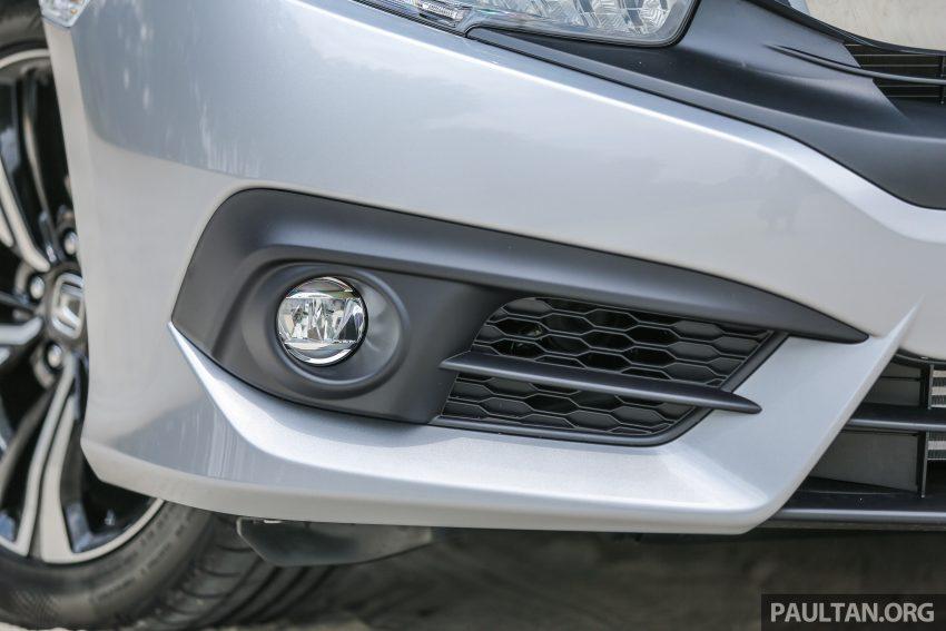 GALERI: Honda Civic 1.5T Premium  2016 di Malaysia Image #527874