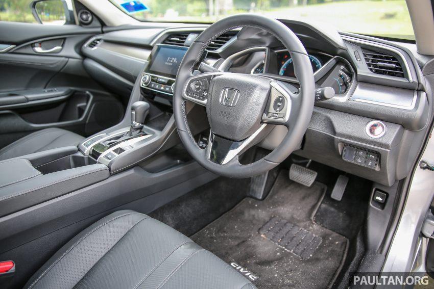 GALERI: Honda Civic 1.5T Premium  2016 di Malaysia Image #527900
