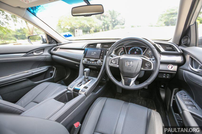 GALERI: Honda Civic 1.5T Premium  2016 di Malaysia Image #527933