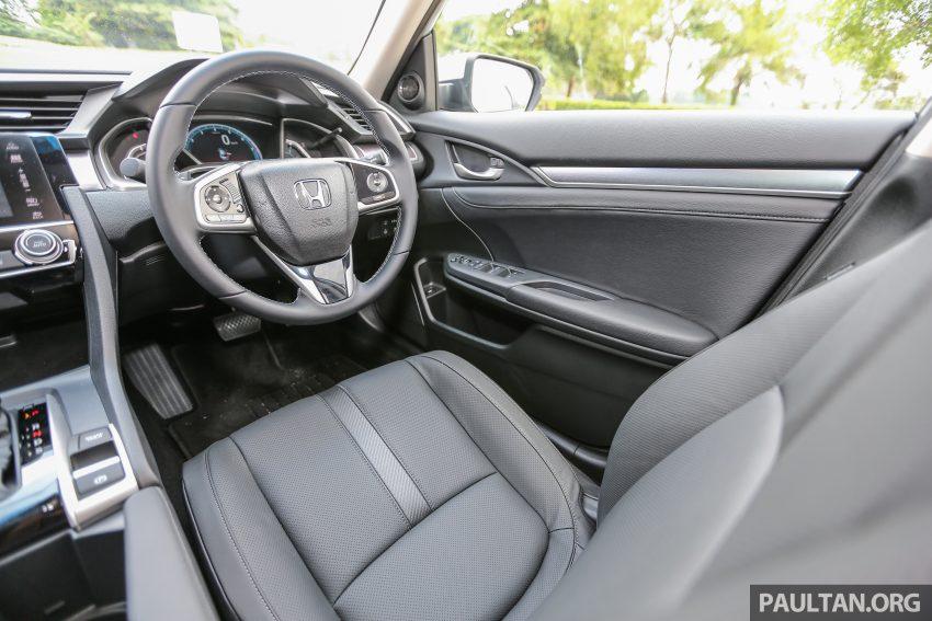 GALERI: Honda Civic 1.5T Premium  2016 di Malaysia Image #527936