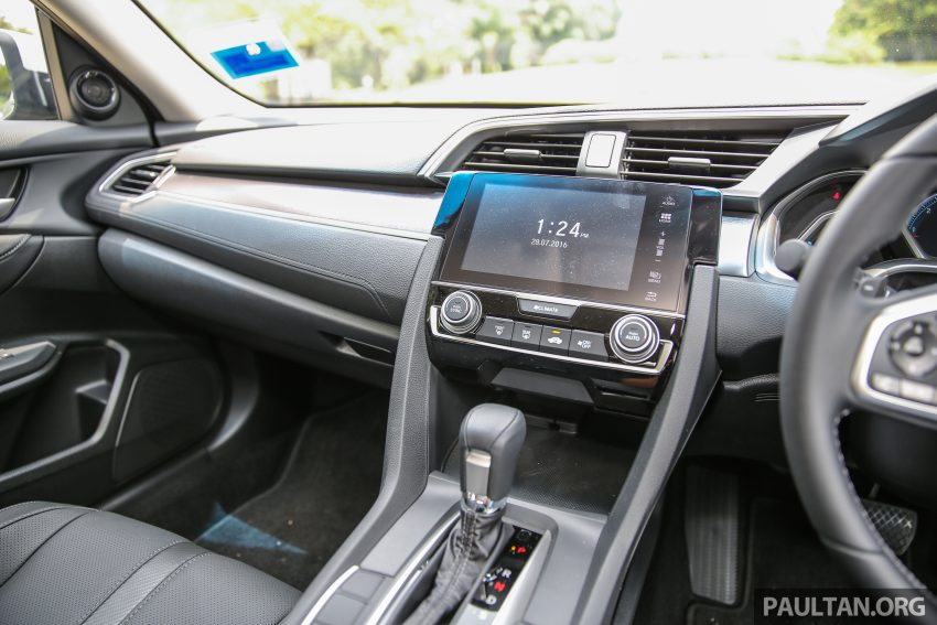GALERI: Honda Civic 1.5T Premium  2016 di Malaysia Image #527904