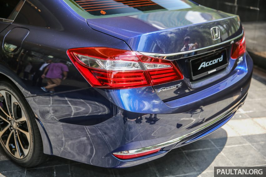 Honda Accord 2.4 VTi-L facelift previewed in Malaysia Image #529157
