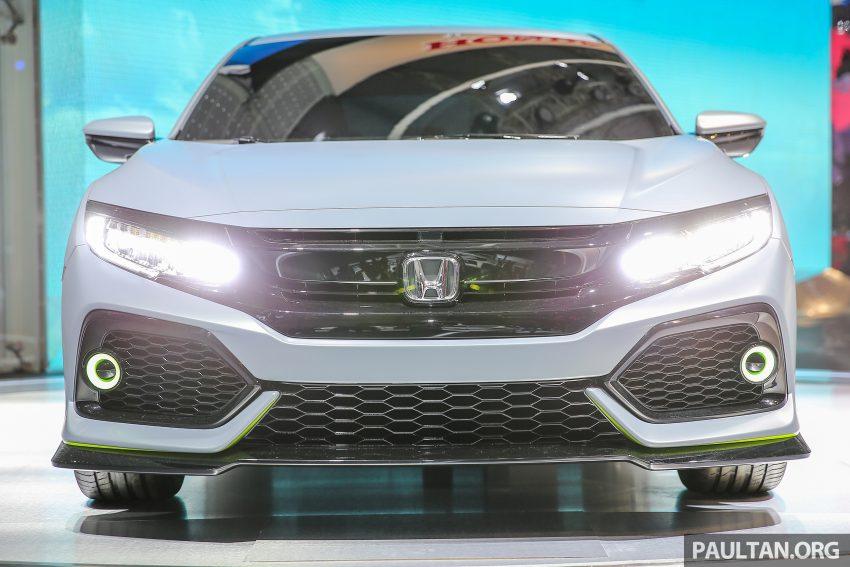 GIIAS 2016: Prototaip Honda Civic Hatchback dipamerkan –  ia akan menembusi pasaran ASEAN? Image #532926