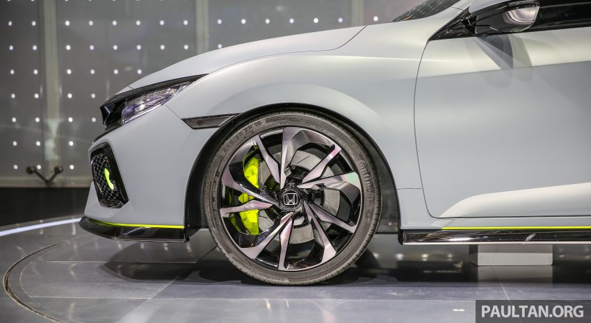 GIIAS 2016: Prototaip Honda Civic Hatchback dipamerkan –  ia akan menembusi pasaran ASEAN? Image #533448