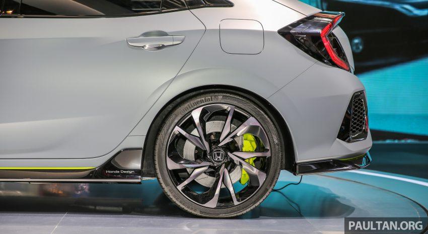 GIIAS 2016: Prototaip Honda Civic Hatchback dipamerkan –  ia akan menembusi pasaran ASEAN? Image #533449