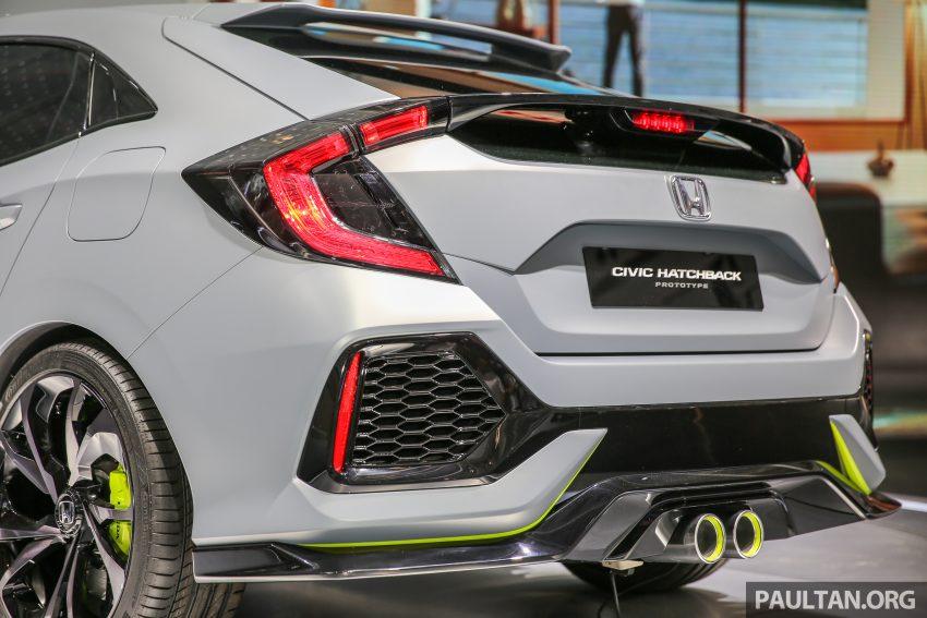 GIIAS 2016: Prototaip Honda Civic Hatchback dipamerkan –  ia akan menembusi pasaran ASEAN? Image #533454