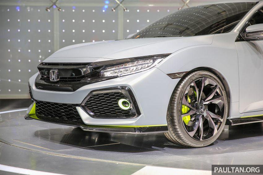 GIIAS 2016: Prototaip Honda Civic Hatchback dipamerkan –  ia akan menembusi pasaran ASEAN? Image #532921