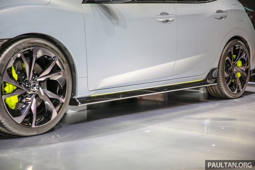 GIIAS 2016: Prototaip Honda Civic Hatchback dipamerkan –  ia akan menembusi pasaran ASEAN? Image #532917