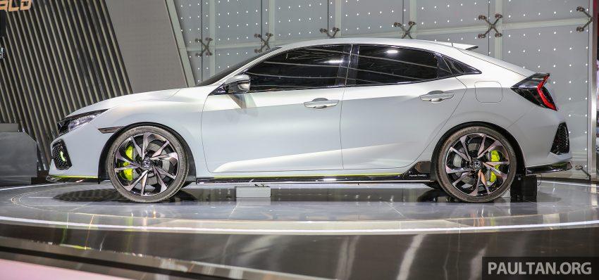 GIIAS 2016: Prototaip Honda Civic Hatchback dipamerkan –  ia akan menembusi pasaran ASEAN? Image #532905