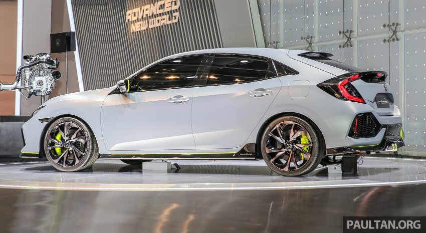 GIIAS 2016: Prototaip Honda Civic Hatchback dipamerkan –  ia akan menembusi pasaran ASEAN? Image #532907