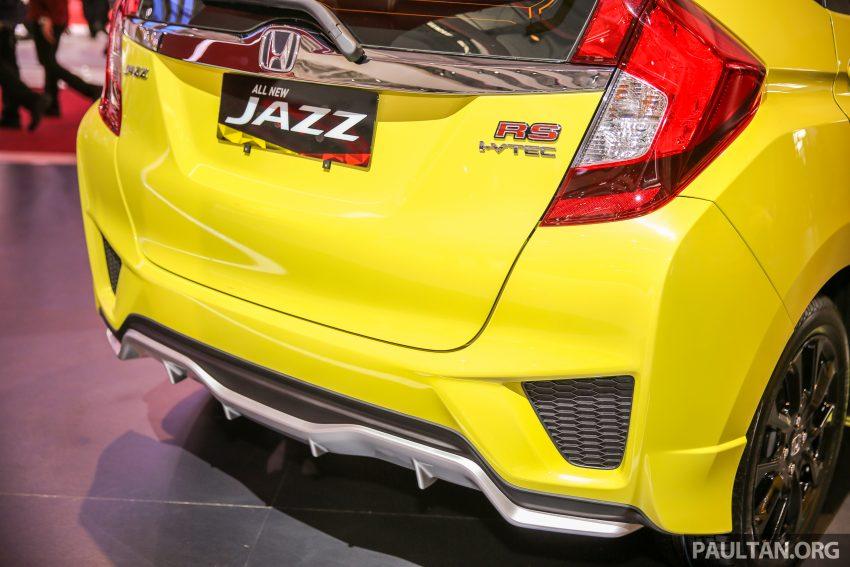 GIIAS 2016: Honda Jazz RS CVT Special Edition Image #533661