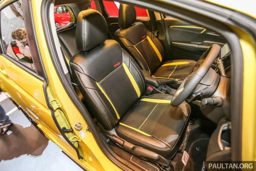 GIIAS 2016: Honda Jazz RS CVT Special Edition Image #533652