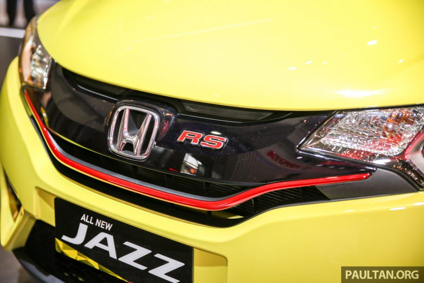 GIIAS 2016: Honda Jazz RS CVT Special Edition Image #533643