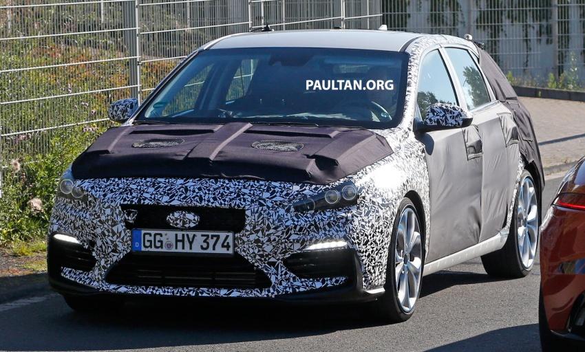 SPYSHOT: Hyundai i30 N diuji – pamer muka agresif Image #537276