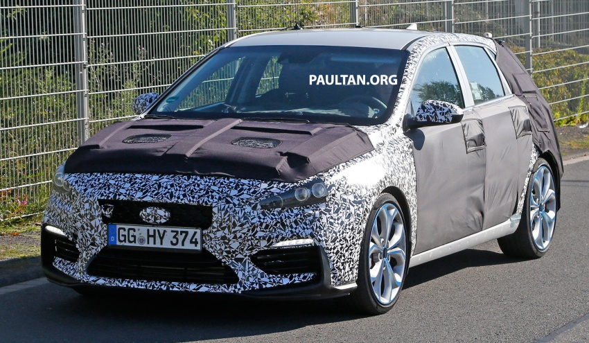 SPYSHOT: Hyundai i30 N diuji – pamer muka agresif Image #537275