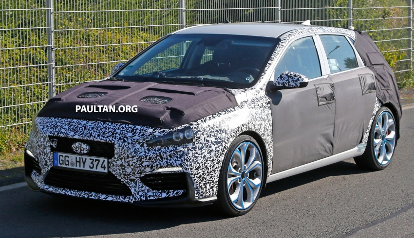 SPYSHOT: Hyundai i30 N diuji – pamer muka agresif Image #537274