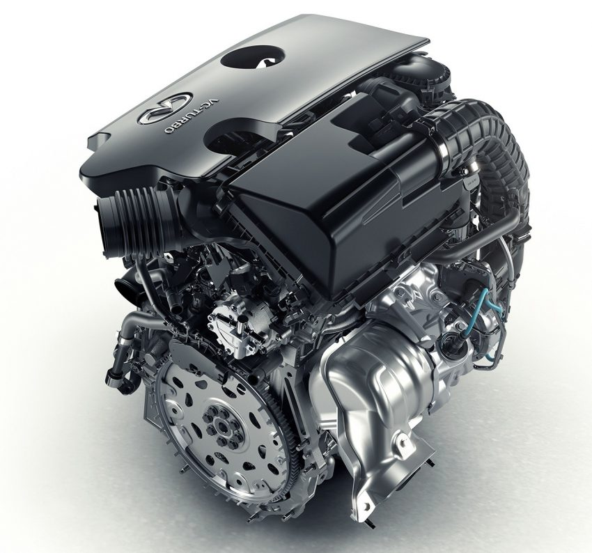 Infiniti reveals new 2.0 litre VC-T engine – world's first, production-ready variable compression ratio unit Image #534456
