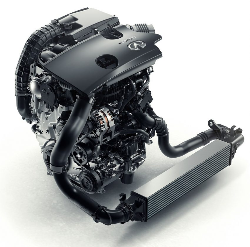 Infiniti reveals new 2.0 litre VC-T engine – world's first, production-ready variable compression ratio unit Image #534468
