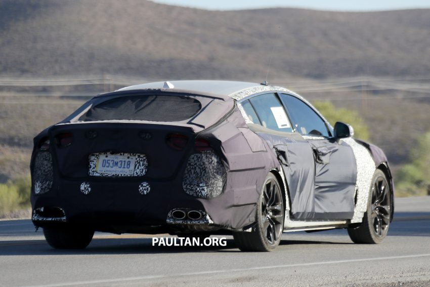 SPYSHOTS: Kia GT shows off its liftback body style Image #536515