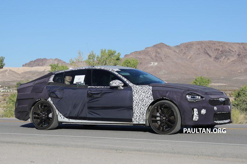 SPYSHOTS: Kia GT shows off its liftback body style Image #536510