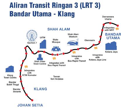Projek LRT3 telah dilancarkan oleh Perdana Menteri – sepanjang 37 km, dijadualkan siap pada 31 Ogos 2020 Image #539984