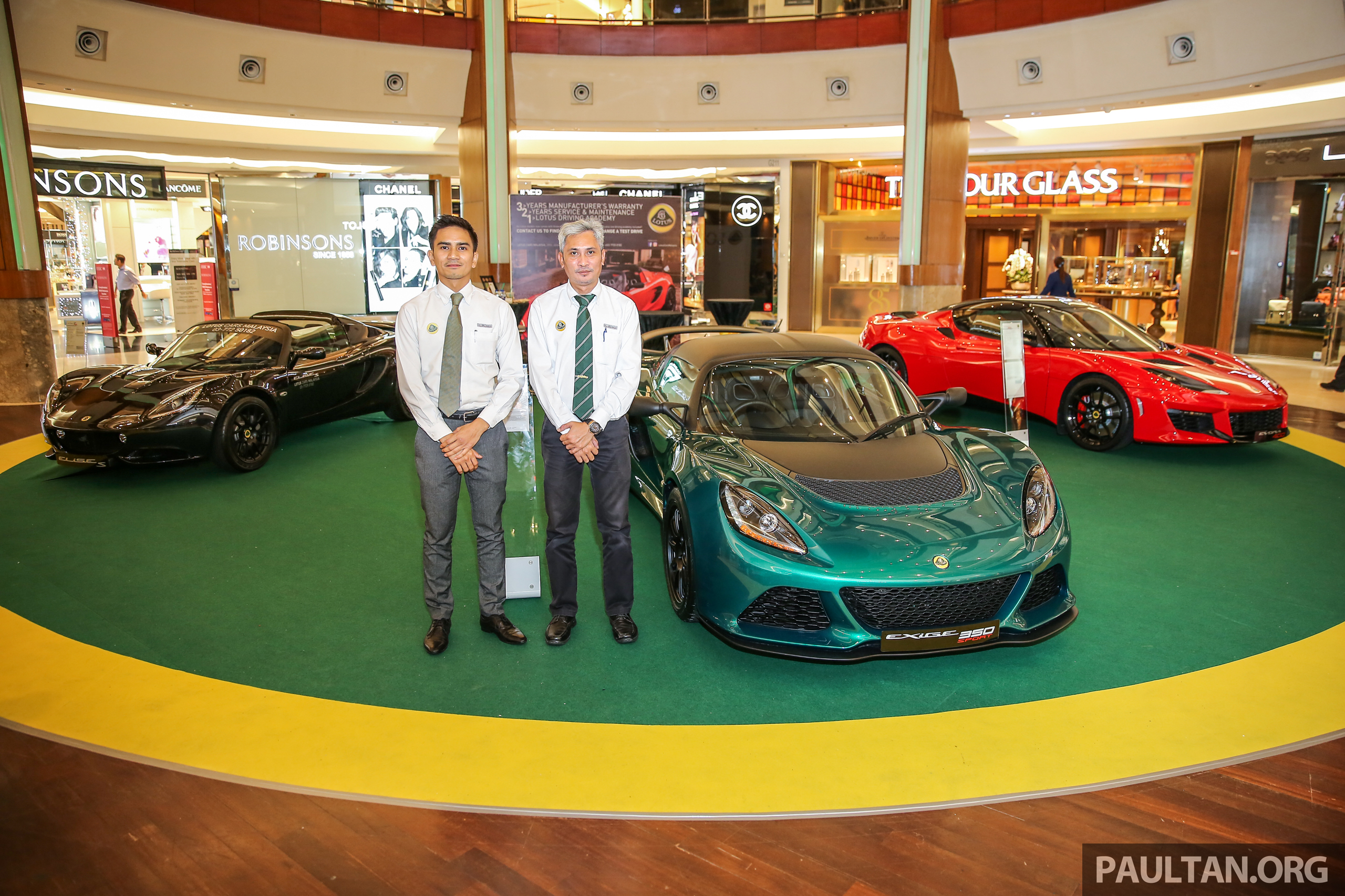 ed717e795070 AD  Lotus Cars Malaysia The Gardens Roadshow – check out the latest models  plus great