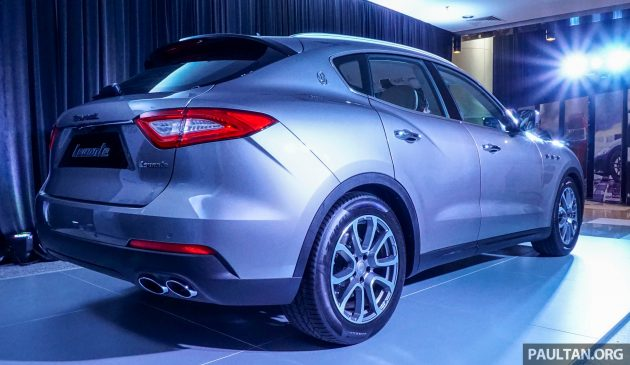 Maserati Levante preview 4
