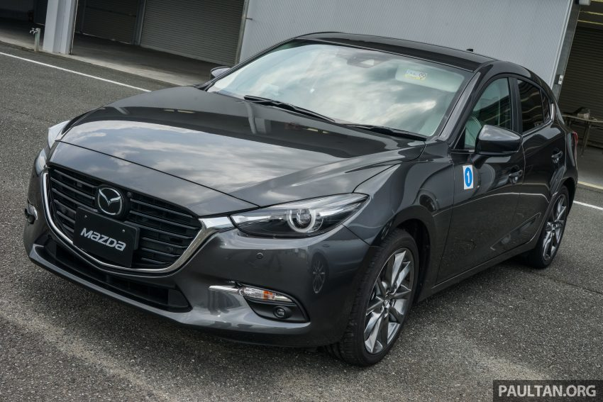 DRIVEN: 2017 Mazda 3 facelift – first impressions of the new G-Vectoring Control system Image #531045