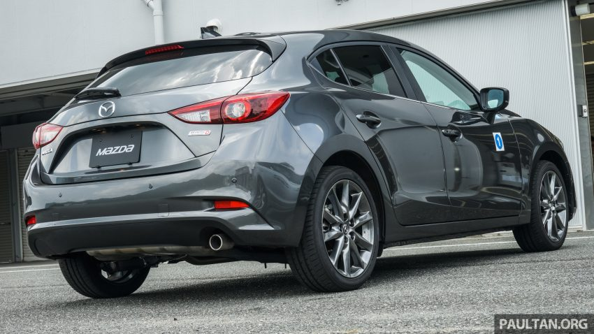 DRIVEN: 2017 Mazda 3 facelift – first impressions of the new G-Vectoring Control system Image #531054