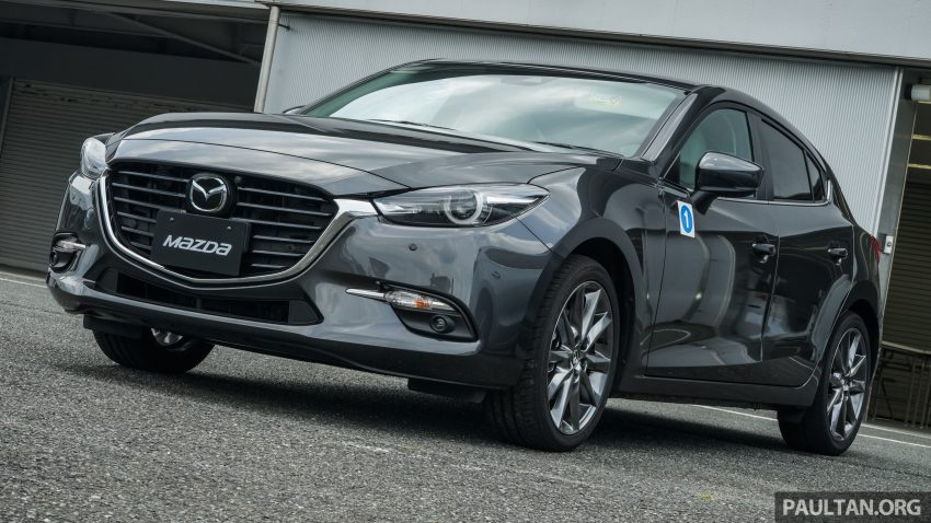DRIVEN: 2017 Mazda 3 facelift – first impressions of the new G-Vectoring Control system Image #531046