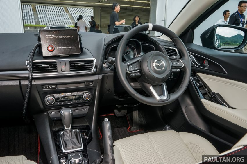 DRIVEN: 2017 Mazda 3 facelift – first impressions of the new G-Vectoring Control system Image #531070