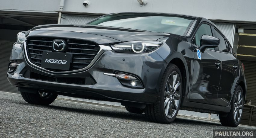 DRIVEN: 2017 Mazda 3 facelift – first impressions of the new G-Vectoring Control system Image #531047