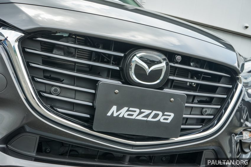 DRIVEN: 2017 Mazda 3 facelift – first impressions of the new G-Vectoring Control system Image #531050