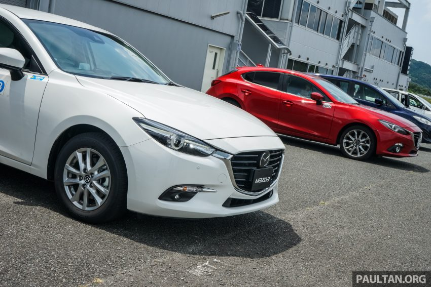 DRIVEN: 2017 Mazda 3 facelift – first impressions of the new G-Vectoring Control system Image #531053
