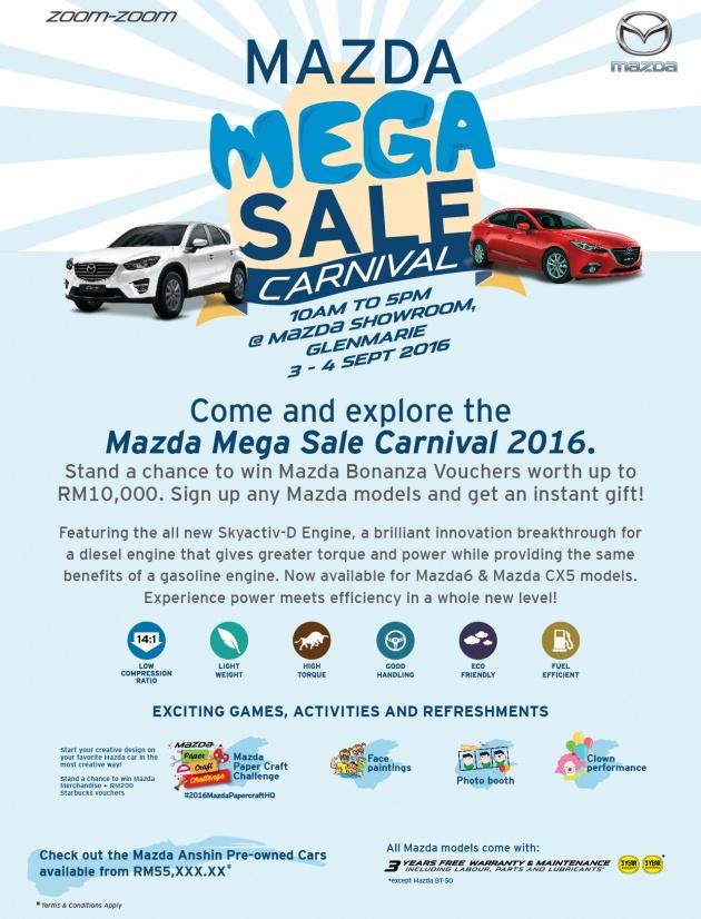 MazdaMegaSaleCarnival 2016