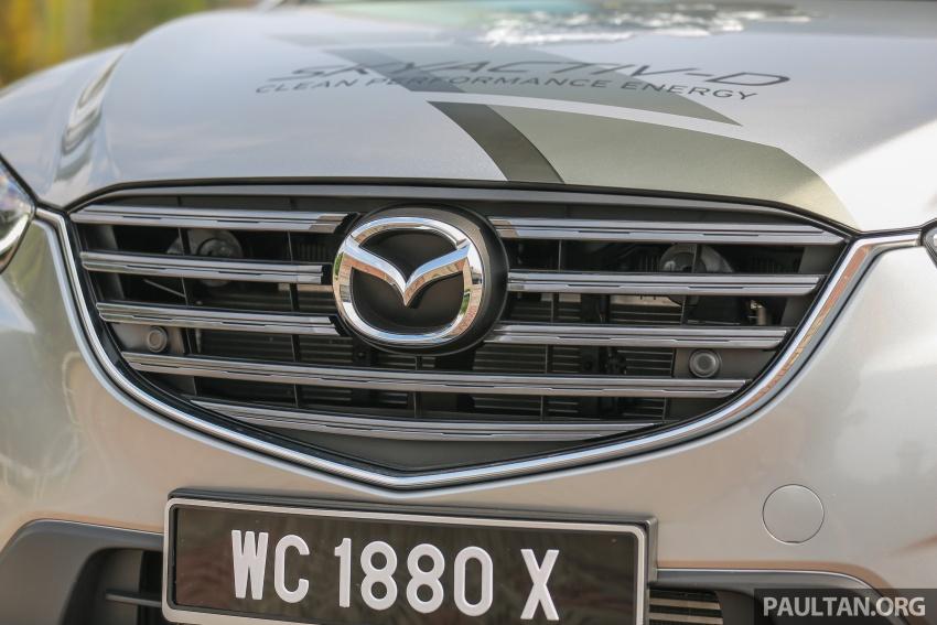 PANDU UJI: Mazda CX-5 2.2L SkyActiv-D – paradigma baharu teknologi diesel untuk kenderaan penumpang Image #537040