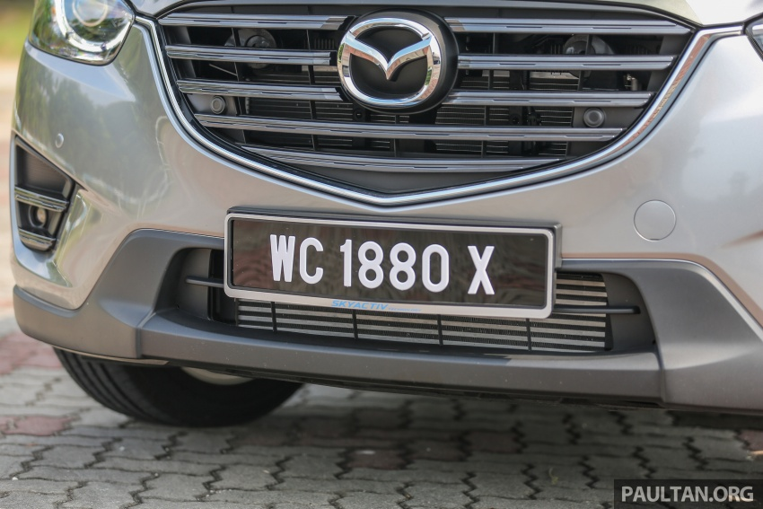 PANDU UJI: Mazda CX-5 2.2L SkyActiv-D – paradigma baharu teknologi diesel untuk kenderaan penumpang Image #537039