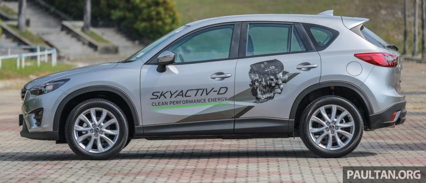PANDU UJI: Mazda CX-5 2.2L SkyActiv-D – paradigma baharu teknologi diesel untuk kenderaan penumpang Image #536903