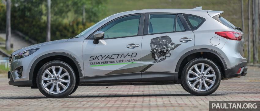 PANDU UJI: Mazda CX-5 2.2L SkyActiv-D – paradigma baharu teknologi diesel untuk kenderaan penumpang Image #536906