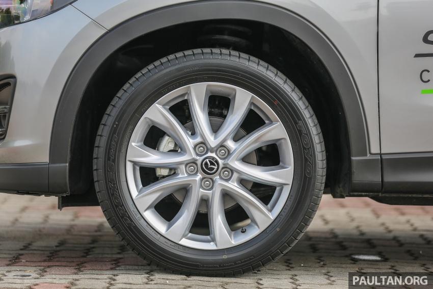 PANDU UJI: Mazda CX-5 2.2L SkyActiv-D – paradigma baharu teknologi diesel untuk kenderaan penumpang Image #537038