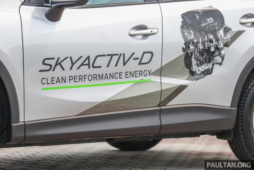 PANDU UJI: Mazda CX-5 2.2L SkyActiv-D – paradigma baharu teknologi diesel untuk kenderaan penumpang Image #537034