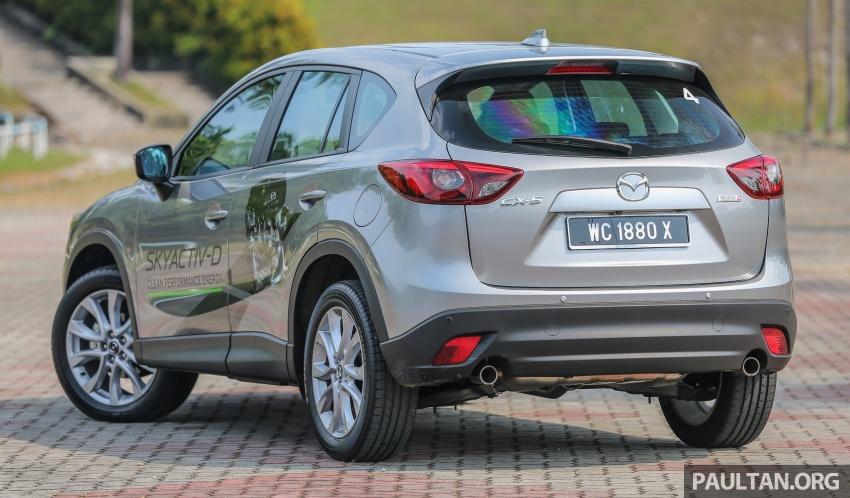 PANDU UJI: Mazda CX-5 2.2L SkyActiv-D – paradigma baharu teknologi diesel untuk kenderaan penumpang Image #536908