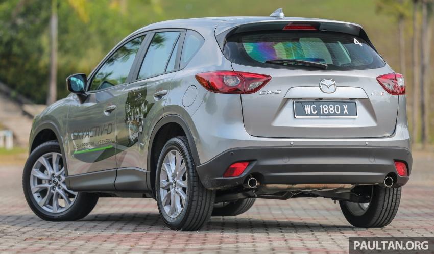PANDU UJI: Mazda CX-5 2.2L SkyActiv-D – paradigma baharu teknologi diesel untuk kenderaan penumpang Image #536909
