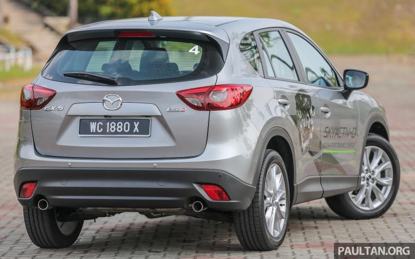 PANDU UJI: Mazda CX-5 2.2L SkyActiv-D – paradigma baharu teknologi diesel untuk kenderaan penumpang Image #536913