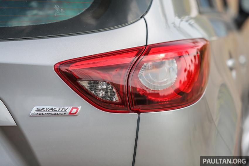 PANDU UJI: Mazda CX-5 2.2L SkyActiv-D – paradigma baharu teknologi diesel untuk kenderaan penumpang Image #537019