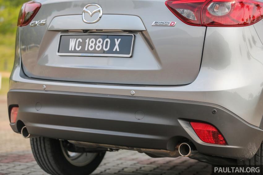 PANDU UJI: Mazda CX-5 2.2L SkyActiv-D – paradigma baharu teknologi diesel untuk kenderaan penumpang Image #537016
