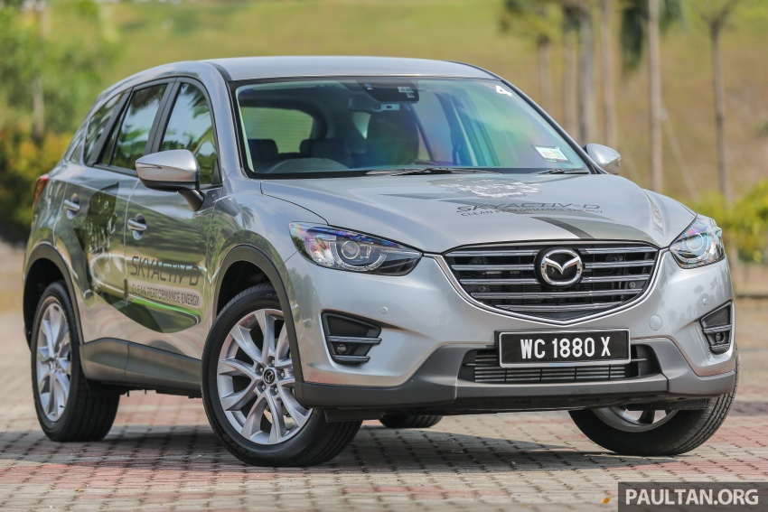 PANDU UJI: Mazda CX-5 2.2L SkyActiv-D – paradigma baharu teknologi diesel untuk kenderaan penumpang Image #537002