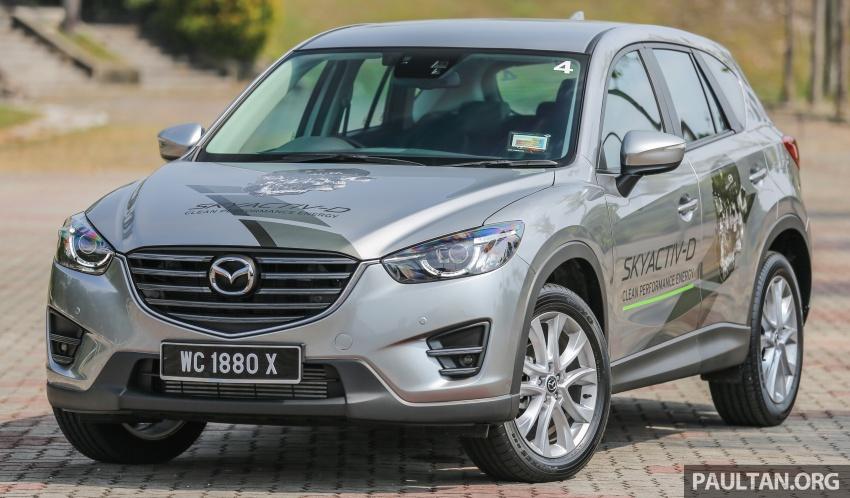 PANDU UJI: Mazda CX-5 2.2L SkyActiv-D – paradigma baharu teknologi diesel untuk kenderaan penumpang Image #536916