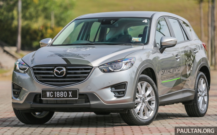 PANDU UJI: Mazda CX-5 2.2L SkyActiv-D – paradigma baharu teknologi diesel untuk kenderaan penumpang Image #536902