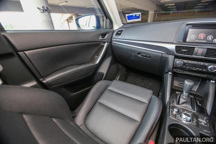 PANDU UJI: Mazda CX-5 2.2L SkyActiv-D – paradigma baharu teknologi diesel untuk kenderaan penumpang Image #536957